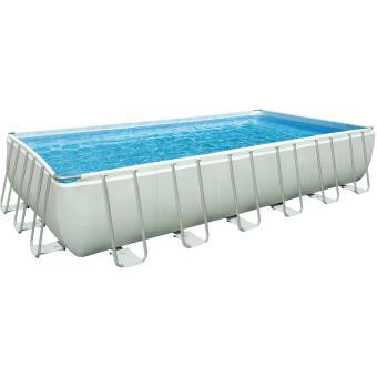Kit piscine tubulaire Intex Ultra Silver 28362FR 7,32 x 3,66 x 1