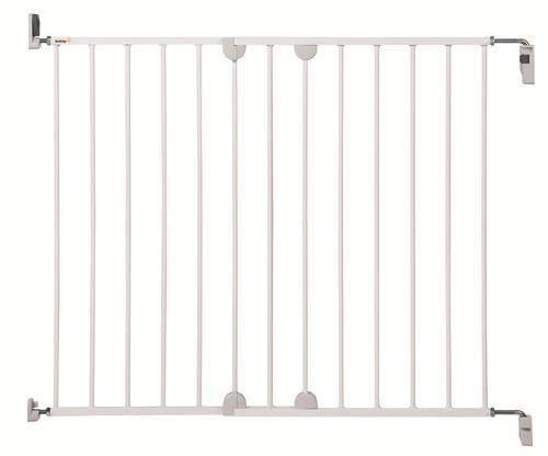 Barrière de protection U-Pressure Easy Close Safety First Extension 7 cm Métal Blanc