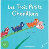 Les trois petits chenillons - nouvelle edition (coll. les petits m - les contes)