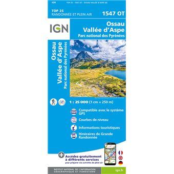 Ossau, Vallée d'Aspe, parc national des Pyrénées