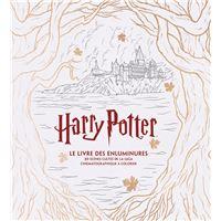 Harry potter, le livre des enluminures 80 scenes cultes de la saga cinematographique a colorier
