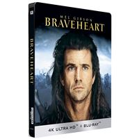 Braveheart Steelbook Edition Limitée Blu-ray 4K Ultra HD