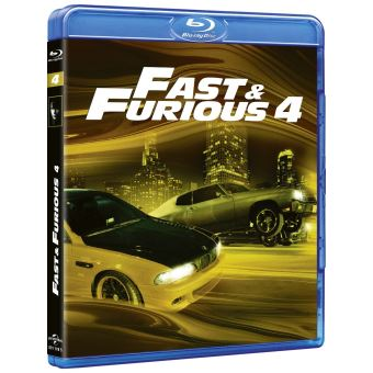 fast and furious fast and furious 4 blu ray coffret dvd blu ray justin lin paul walker. Black Bedroom Furniture Sets. Home Design Ideas