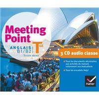 Meeting Point Anglais Tle éd. 2012 - 3 CD audio classe
