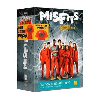 MisfitsMisfits - Coffret intégral des Saisons 1 à 4 Edition Spéciale Fnac