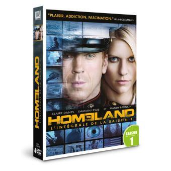 HomelandCoffret intégral de la Saison 1 DVD