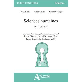 Sciences humaines 2018-2020 anderson l'imaginaire national
