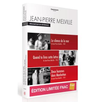 Coffret Jean-Pierre Melville  3 films Edition spéciale Fnac  DVD