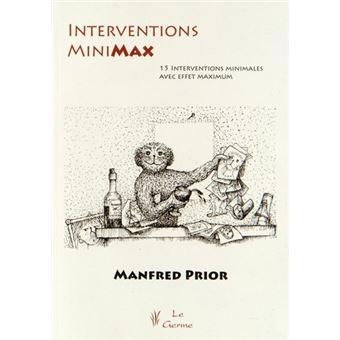 Interventions minimax