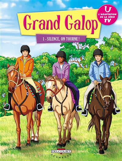 Grand galop T01 SILENCE ON TOURNE