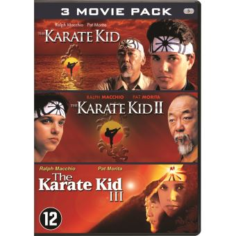 KARATE KID - 3 PACK-BIL