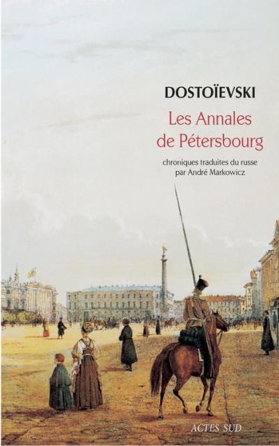 Les annales de Pétersbourg - 9782330083168 - 6,49 €