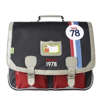 cartable tann 39 s collector coccinelle gris et rouge 41 cm cartable sac dos primaire achat. Black Bedroom Furniture Sets. Home Design Ideas