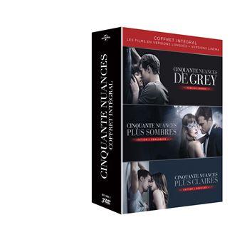 Fifty shadesCinquante nuances La Trilogie Coffret DVD