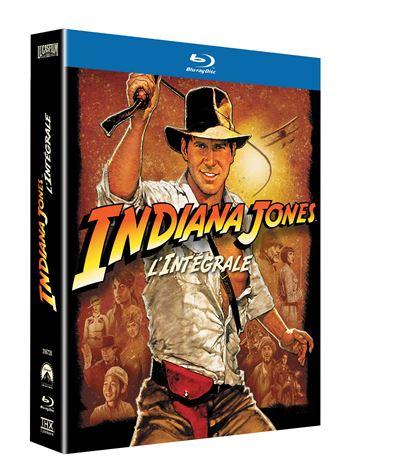 Coffret Indiana Jones