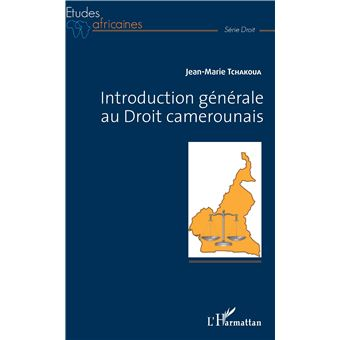 introductiongenerale au droit camerounais