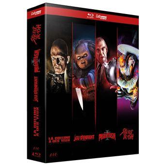 Coffret Cult Horror 4 films Blu-ray