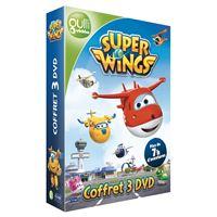 Coffret Super Wings Saison 1 Voyage en Extrême Orient Aventures africaine DVD