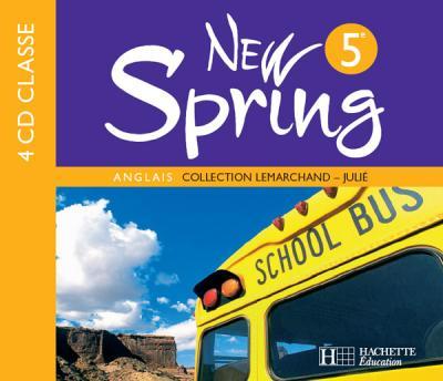 New Spring 5e LV1 - Anglais - CD audio classe