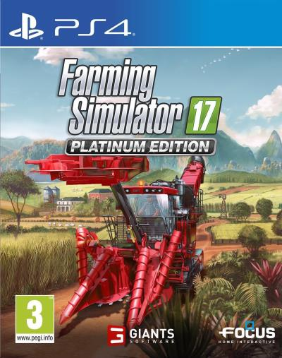 Farming Simulator 17 Edition Platinum PS4