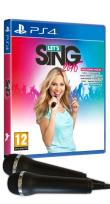 Pack Let's Sing 2016 Version Internationale PS4 et 2 Micros