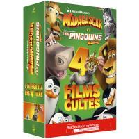 L'intégrale Madagascar + Les Pingouins de Madagascar - Coffret Fnac 5 DVD