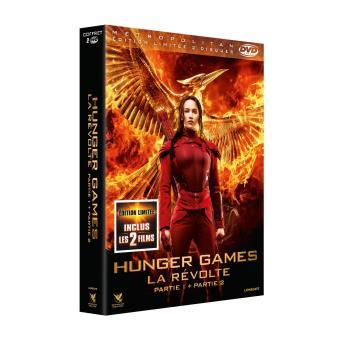 Hunger GamesHunger Games - La Révolte : Partie 1 et 2 DVD