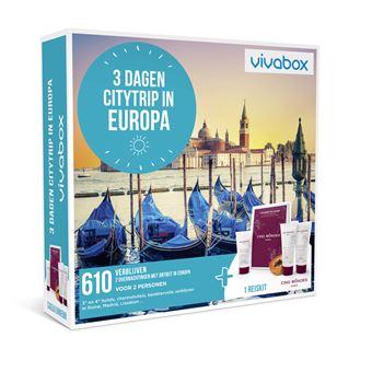 VIVABOX NL 3 DAGEN CITYTRIP IN EUROPA