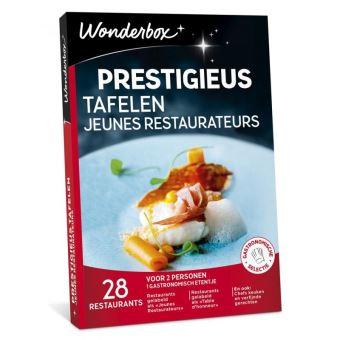 Wonderbox NL Prestigieus Tafelen Jeunes Restaurateurs