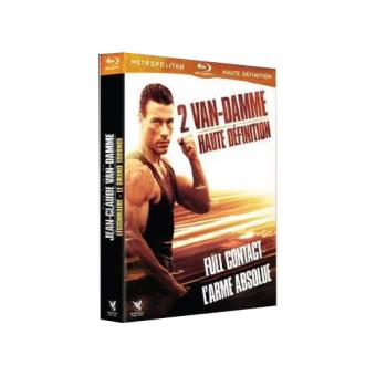 Coffret Jean-Claude Van Damme 2 films Blu-ray