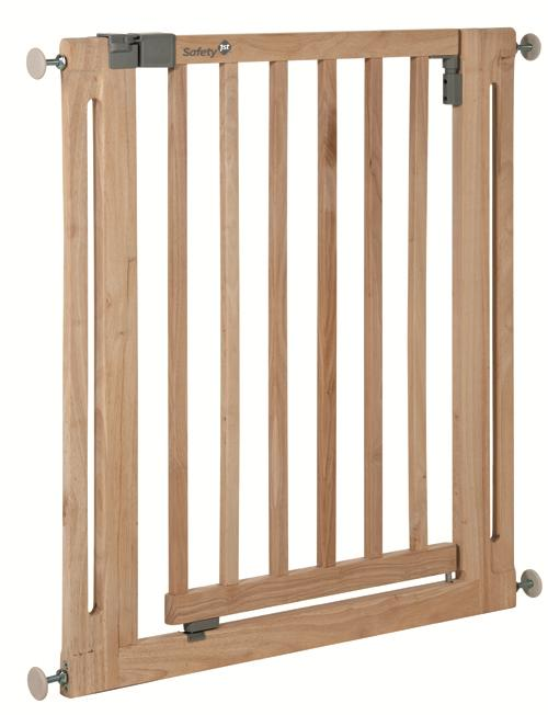 Barrière de protection U-Pressure Easy Close Safety First Wood Natural Wood