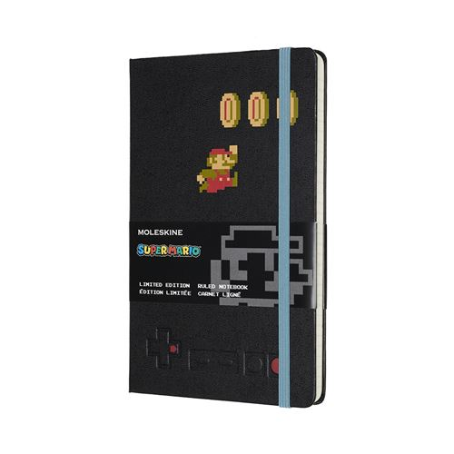 Super mario carnet grand format ligne mario in motion