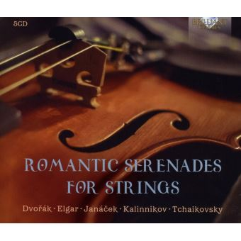 ROMANTIC SERENADES FOR STRINGS/12CD