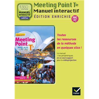 Meeting point Anglais Terminale éd. 2012 - CD ROM enrichi version utilisateurs de la méthode