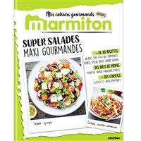 Marmiton Cahier gourmand Super Salades