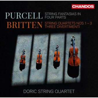 Britten String Quartets Numbers 1-3 Three Divertimenti