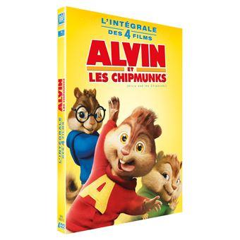 Alvin et les ChipmunksAlvin et les Chipmunks L'intégrale de 1 à 4 Coffret DVD