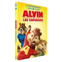 Alvin et les Chipmunks L'intégrale de 1 à 4 Coffret DVD