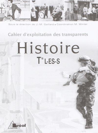 Pochette Transparents Histoire Term L,Es