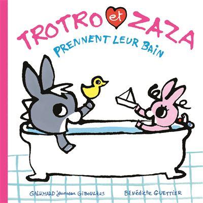 Trotro et Zaza prennent le bain