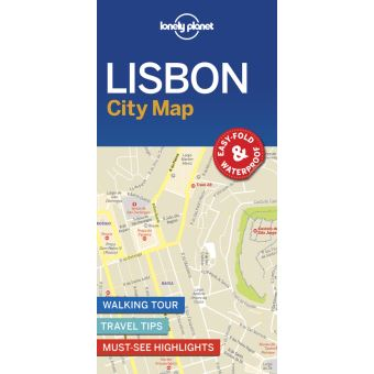 Lisbon City Map 1ed -anglais-