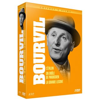 Coffret Bourvil 3 films DVD