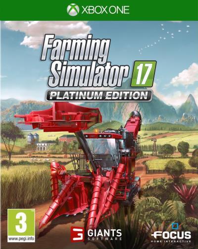 Farming Simulator 17 Edition Platinum Xbox One