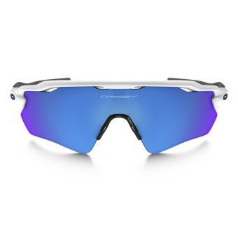 fd565b20edb7bf Lunettes de soleil Sport Vélo Oakley Radar EV Path Blanche, grise et bleue  - Lunettes - Equipements sportifs   fnac