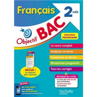 Objectif Bac Francais 2nde