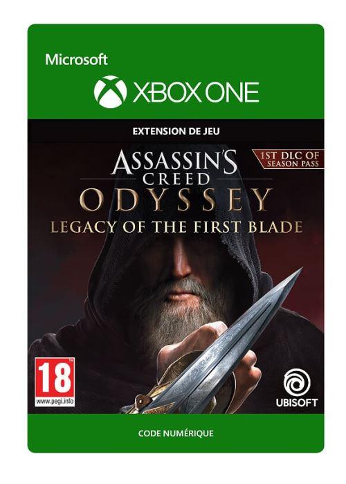 Code de téléchargement Assassin's Creed Odyssey L'Héritage de la Première Lame Xbox One