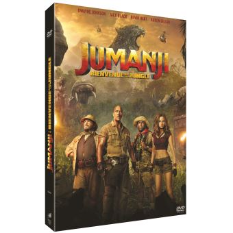 JumanjiJumanji : Bienvenue dans la jungle DVD