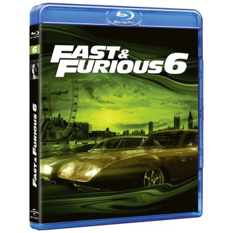 Fast and FuriousFast and Furious 6 Blu-ray