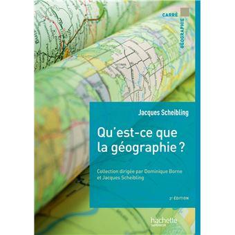 Qu Est Ce Que La Geographie
