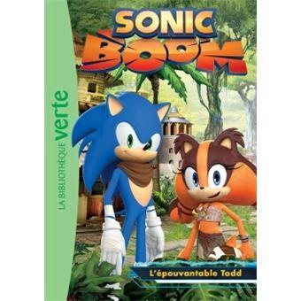 livre bd sonic